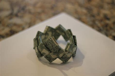 money bracelet origami our in a click gift idea dollar bill origami bracelet