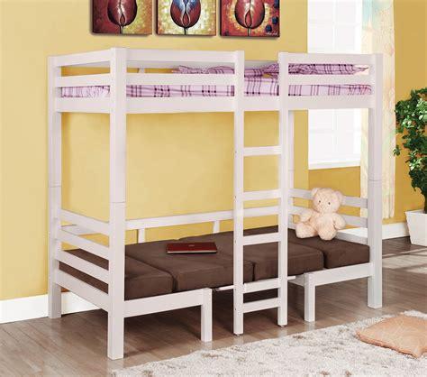 convertible loft bunk bed dreamfurniture 460273 bunks
