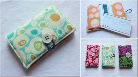 make business card holder how to make sew business card holder step by step diy