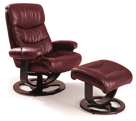 recliner with ottoman leather rebel leather recliner and ottoman 18521