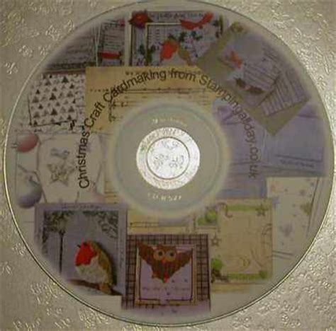 craft cds card craft cardmaking cd backing papers and topper kits