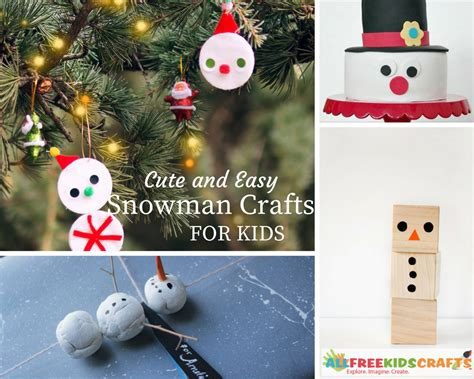easy snowman crafts for 14 and easy snowman crafts for craft paper