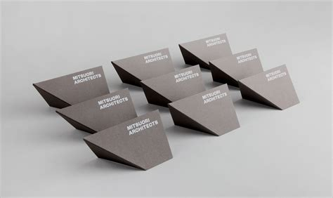 business origami business card design inspiration 60 eye catching exles