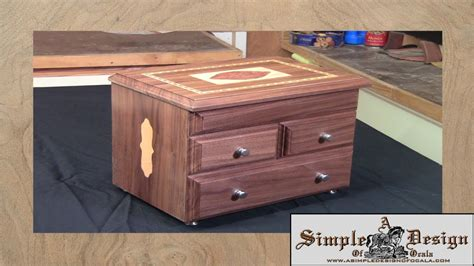 how to make a jewelry box out of wood an inlay jewelry box part 1
