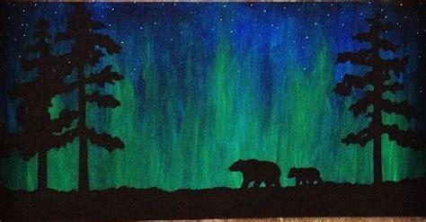paint nite markham crafts northern lights suche winter