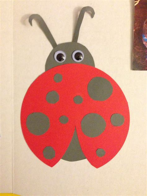 paper ladybug craft 43 best images about how to animal crafts on