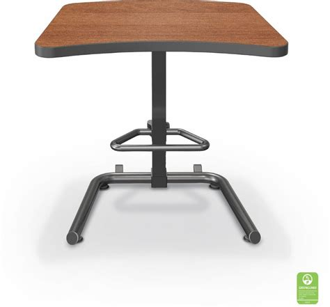 student workstation desk up rite workstation student height adjustable desk