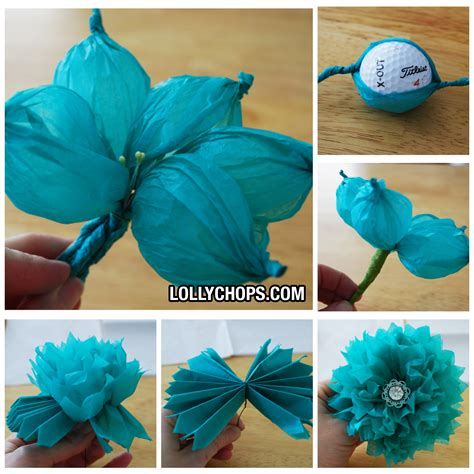 how to make tissue paper crafts tissue paper paper flowers