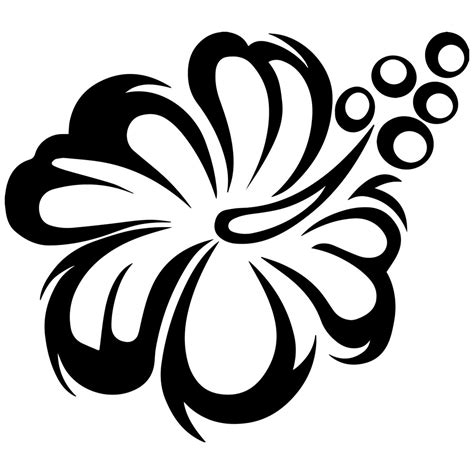 and white sunflower black and white flower clipart black and white