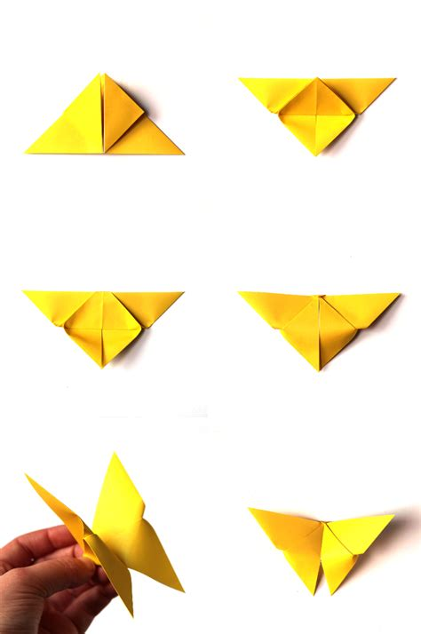 how to make a butterfly origami make it monday easy origami butterflies gathering