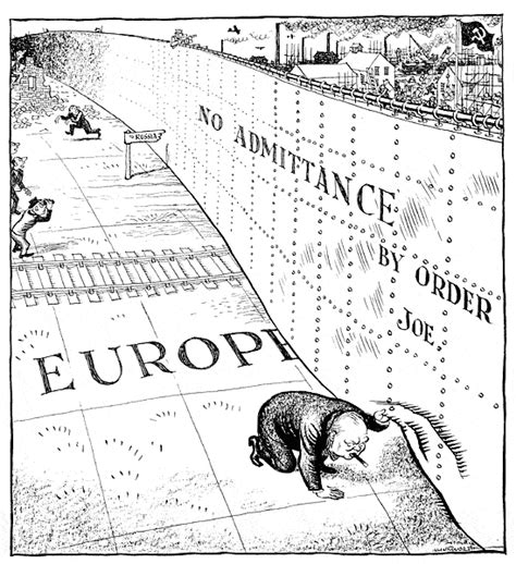 an iron curtain has descended across the continent winston churchill march 5 1946 187 ian c