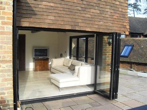 bi folding glass doors exterior best 25 bi fold patio doors ideas on bifold