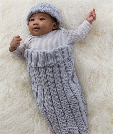 baby cocoon knit pattern comfy knit baby cocoon and cap allfreeknitting