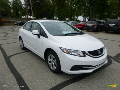 Honda Civic Lx 2013 by 2013 Taffeta White Honda Civic Lx Sedan 81011770
