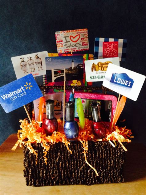 1000 Images About Gift Baskets On Gift Card