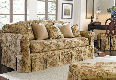 floral sofa slipcovers photo of bridgewater floral by waverly separate seat
