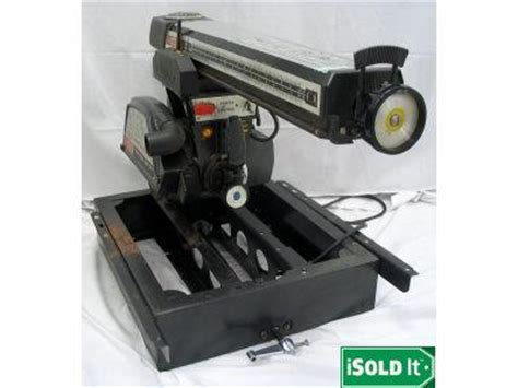 sears woodworking tools craftsman radial arm saw