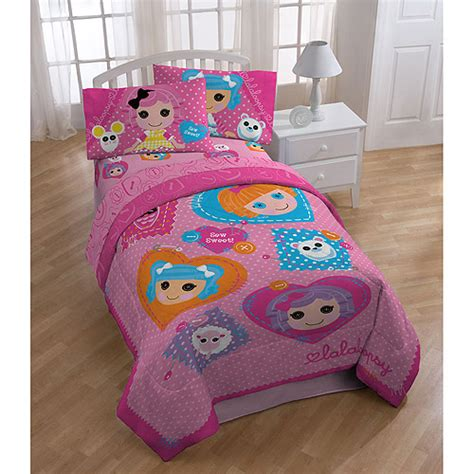 lalaloopsy bed set comforters and tv characters bedding for