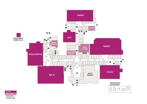 shopping centre floor plan centre map grand plaza shopping centre in browns