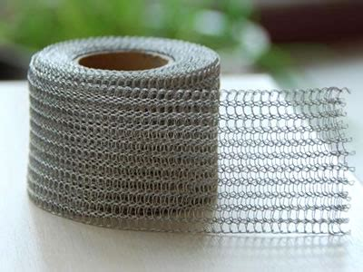 knitted wire mesh knitted wire mesh filter for demister pad
