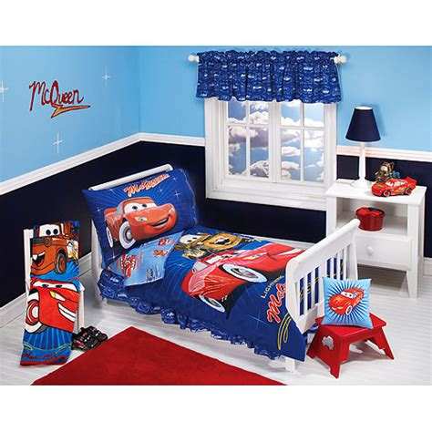 cars toddler bedding sets disney pixar cars club 4 toddler bedding set