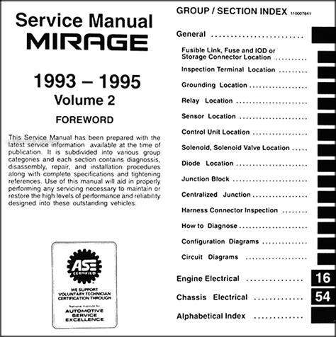 car service manuals pdf 1993 mitsubishi galant transmission control mitsubishi mirage service manual pdf download autos post