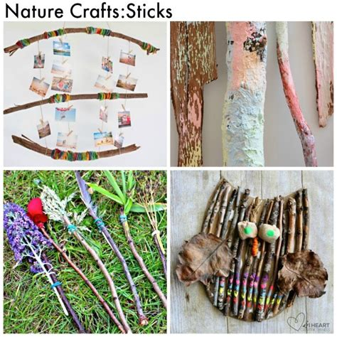nature craft ideas for 50 nature crafts for arty crafty