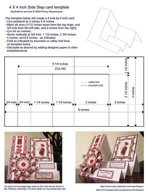 step by step card best 20 side step card ideas on step cards