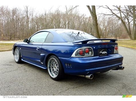 1997 Ford Mustang Gt by 1997 Moonlight Blue Metallic Ford Mustang Gt Coupe