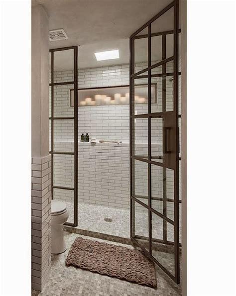 steel shower doors let s stay industrial steel framed doors metal