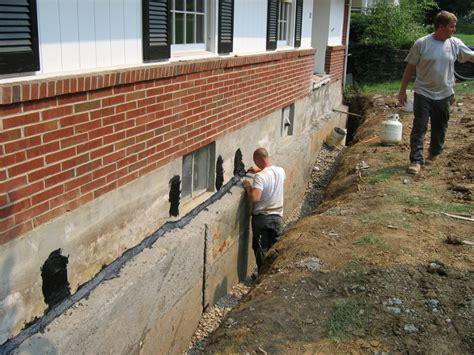 basement wall leak repair the easy way to fix basement leaks backyard ca