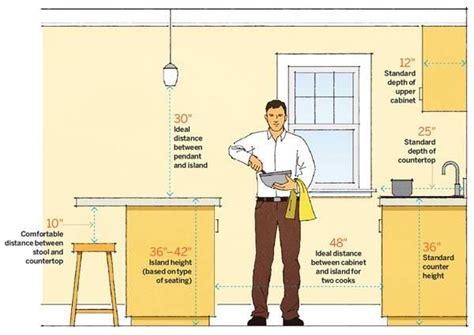Kitchen Triangle With Island best 25 kitchen island dimensions ideas on pinterest