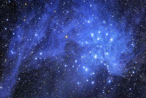 pleiades and stardust