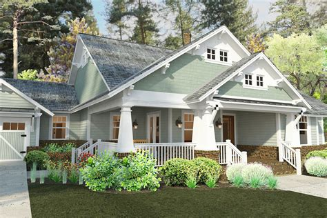 craftsman house plans with porch plan 16887wg 3 bedroom house plan with swing porch