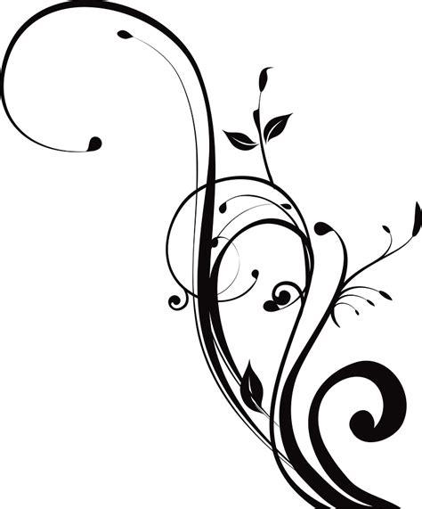 black designs black and white swirl design cliparts co