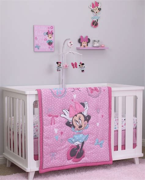 minnie mouse bedding for cribs disney minnie mouse crib bedding set 28 images disney