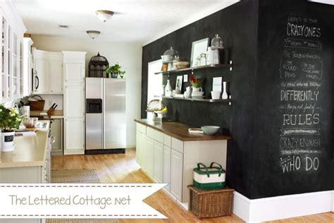 chalkboard paint kitchen 5 ways to use chalkboard paint infarrantly creative