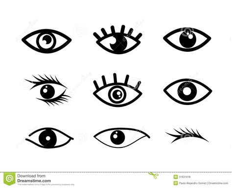 eye designs eye designs stock vector image of graphic element icon