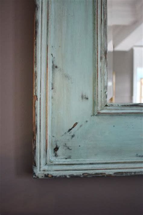 chalk paint mirror how to distress a mirror using chalk paint this is a