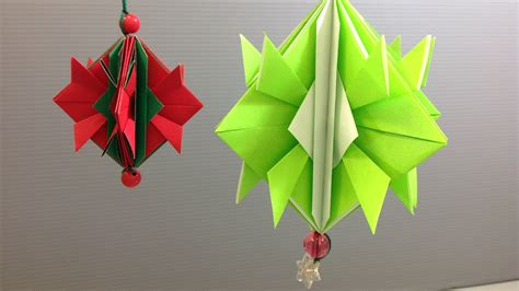 make origami decorations easy origami ornament decoration