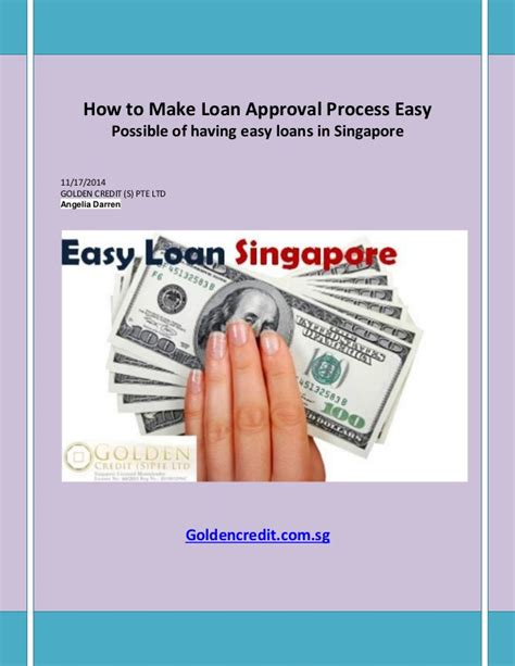 how to make a advance on a credit card how to make loan approval process easy