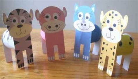cheetah crafts for free printables animals cardboard cats printables