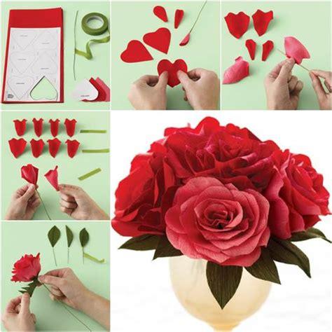 paper craft roses paper roses craft craftshady craftshady