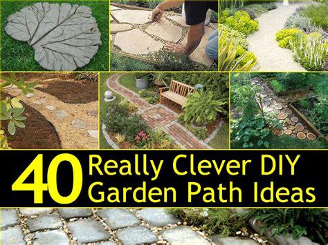 cheap ideas for garden paths 40 really clever diy garden path ideas