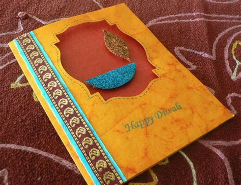 diwali cards for to make diwali greeting card ideas family net