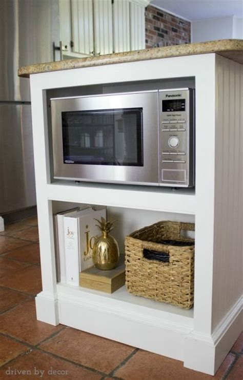 microwave in kitchen island best 25 microwave shelf ideas on microwave in