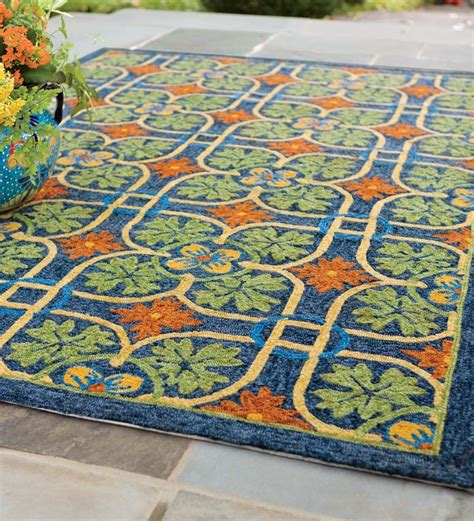 outdoor rug 8 x 10 talavera tile indoor outdoor rug 8 x 10 indoor