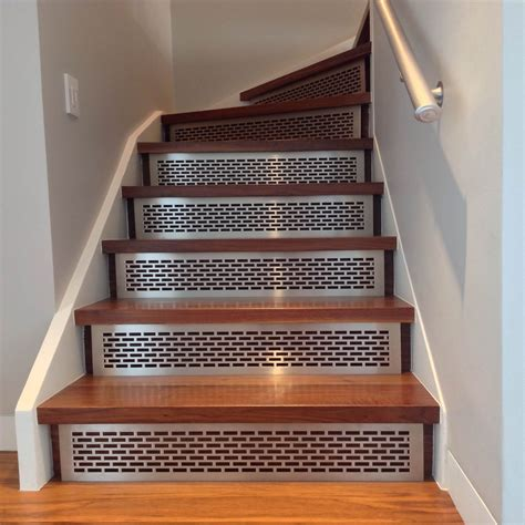 stair risers amp treads architectural grille