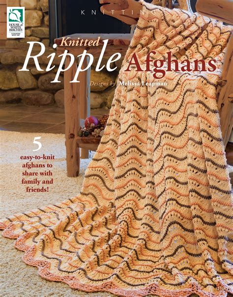 ripple afghan knit pattern drg drg news releases
