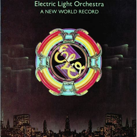 world light covers a new world record by electric light orchestra lp with
